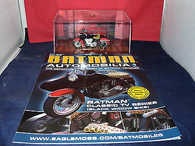 Eaglemoss Batman Automobilia - Issue 83 - Batman Classic TV Series Black Widow