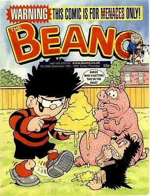 Uk Comics The Beano 250+ Humour Comics From 1995-1999 On Dvd