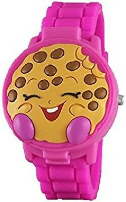 Shopkins Girls Pink 3D Cover Watch -NEW!!