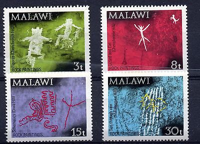 Malawi (9659)  1972 Rock Paintings set Lightly Mounted Sg413-6