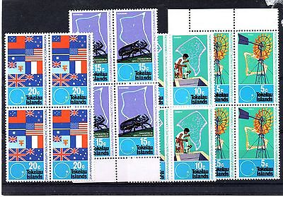 Tokelau Islands (9797) 1972 25th Anniv. of South Pacific Commissission set block