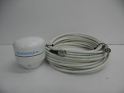 Northstar AN-150 GPS Antenna f/6000i 6100i +50' COAX CABLE (for 951x 952x also)