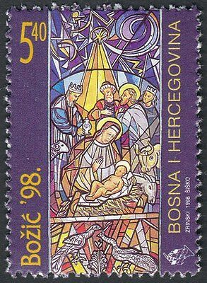 Bosnia Herzegovina, 1998, croatian post, (#47) - Christmas