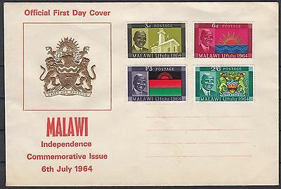 MALAWI 1964 ☀ Independence ☀ unused FDC covers