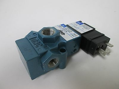 New MAC 55B-11-PI-501JM Pneumatic Solenoid Valve, 2-Position 3-Way, Vac-150psi