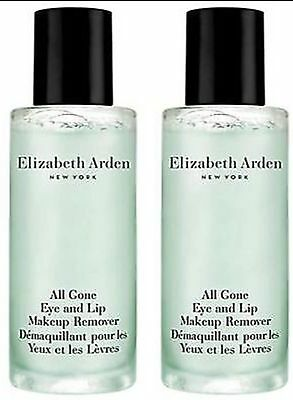 Elizabeth Arden Makeup Remover Eye &Lips 50ml X 2 Total 100ml AU No Box/seal NEW