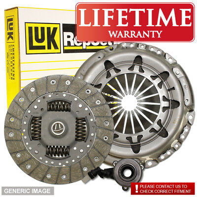 Saab 9-5 95 2.3 T Luk Clutch Kit 3Pc + Slave Cylinder 170 10/98- Estate B235E