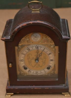 Very Good Quality Looking Elliot Mantel Or Bracket Type Clock To Polish Up
