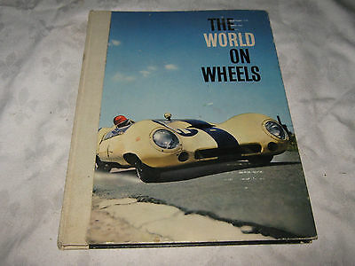 Vintage 1962 Nestle's Published The World on Wheels, Sticker Card Album Book