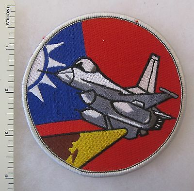 REPUBLIC of CHINA ROC TAIWAN AIR FORCE FIGHTER PATCH COLD WAR Vintage ORIGINAL