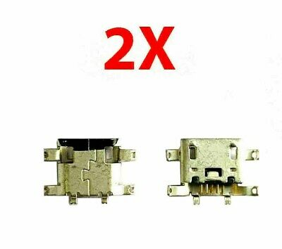 2X New Micro USB Charging Port Dock Connector For Motorola Moto G 2nd Gen XT1068