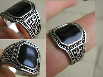 Nice White Metal Ring. Made In Russia (Hand Made From Dagestan  Prison) #4881