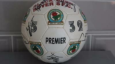 Black Burn Rovers F.c Signed Football. Signed By 18.