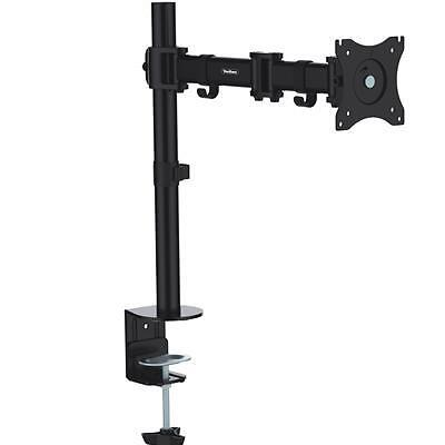 """NEW! Vonhaus 05-073 Single Lcd Led for 13"""" To 27"""" Monitor Desk Mount Arm"""