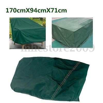 1.7M Outdoor Waterproof Furniture Cover Rect Patio Dining Table Chair Shelter