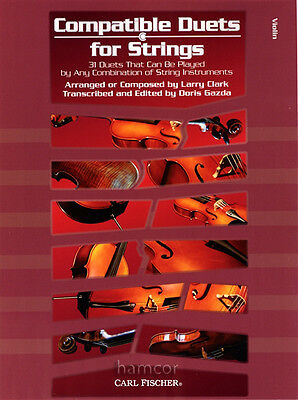 Compatible Duets for Strings Violin Sheet Music Book Duets Ensemble