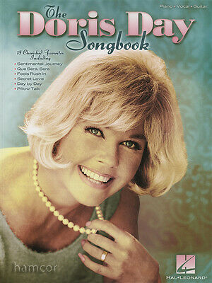 The Doris Day Songbook Piano Vocal Guitar Sheet Music Book