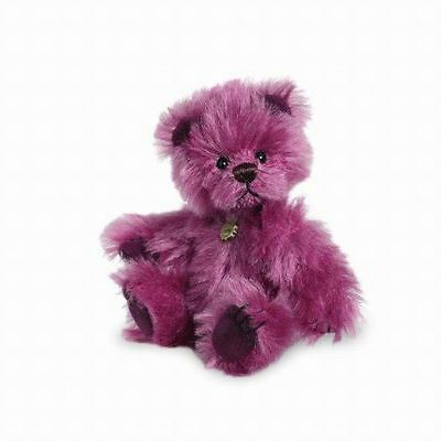 Teddy Hermann Miniature Limited Edition Purple Plum Bear Collectors, 150985