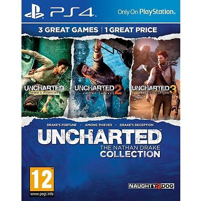 Uncharted The Nathan Drake Collection PS4 New and Sealed
