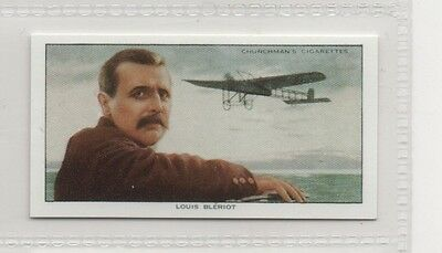 #7 Louis Bleriot - Pioneers Reproduction Card
