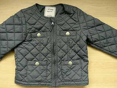 Next girls quilted coat jacket -  age 4-5 years