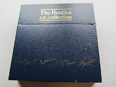 THE BEATLES EP  COLLECTION  14   x  EPs  1982 U.K. BLUE E P  BOX