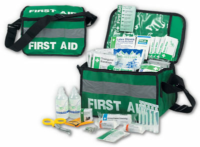 Deluxe First Aid Haversack Kit Bag - Sports etc