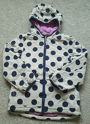 Mini Boden Girls Jacket fleece lined anorak coat. RRP £40. size 11-12 years. NEW