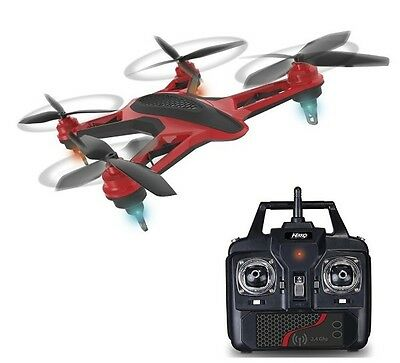 Happy People 36942 NIKKO AiR Racer Drohne LED Licht ca.251x155x38mm Quadrocopter