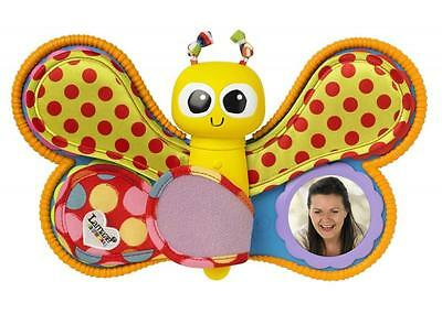 Lamaze LC27240 Bright Bold Colours Four Photo Windows Hear Me See Me Photo Album