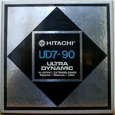 "HITACHI UD REEL TO REEL TAPE UD7-90 1/4"" 7"" BLANK NEW SEALED  Maxell UD 35-90"