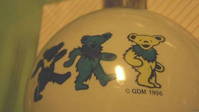 GRATEFUL DEAD 3 BEARS XMAS ORNAMENT jerry garcia 90s dancing yellow green blue
