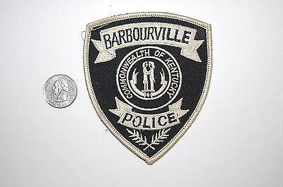 Barbourville Kentucky Police Dept Patch