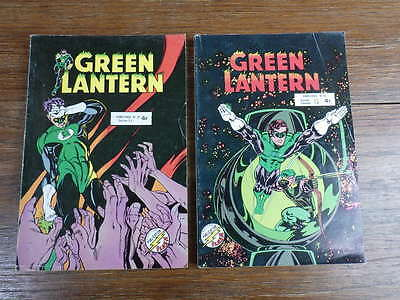 2x ARTIMA AREDIT : GREEN LANTERN No 29 et 30 (1979-1980)
