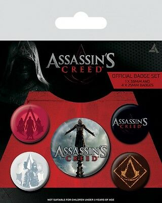 Assassins Creed - Movie Badgepack Button Set (15x10cm) #100763