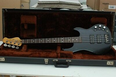 g&l GL L2000 L-2000 E SERIES VINTAGE 1982 BLACK W/OHSC ELECTRIC BASS BASSO WW SH
