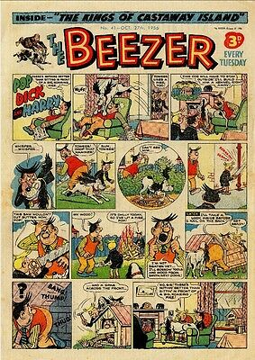 Uk Comics Beezer Collection 200+ Humour Comics From 1956-1990 On Dvd