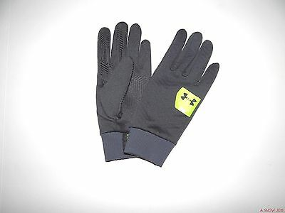 New Under Armour Youth Kids Boys UA ColdGear Infrared Poly Liner Gloves Medium