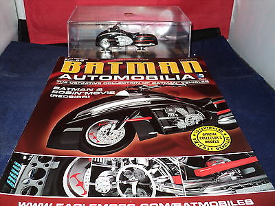 Eaglemoss Batman Automobilia - Issue 66 -  Batman & Robin Movie Redbird