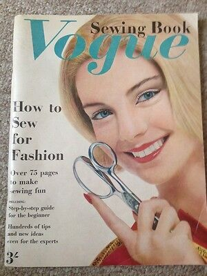 Vintage Vogue Sewing Pattern Book Guide 1962 Butterick Publishing Group 60s