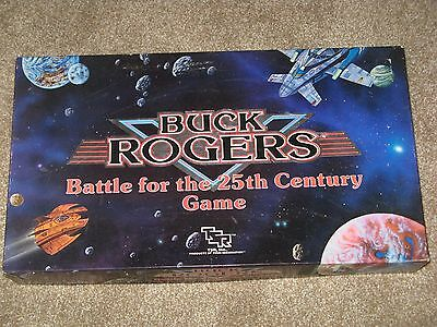 Buck Rogers Battle For the 25th Century Game TSR sci-fi boardgame 1988