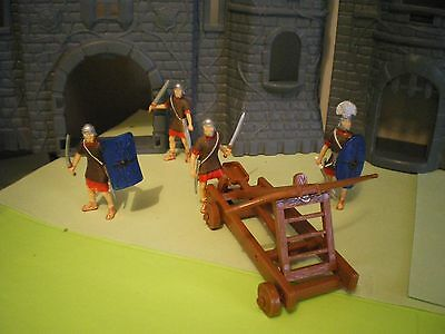 Britains Catapult and Roman Soldiers.