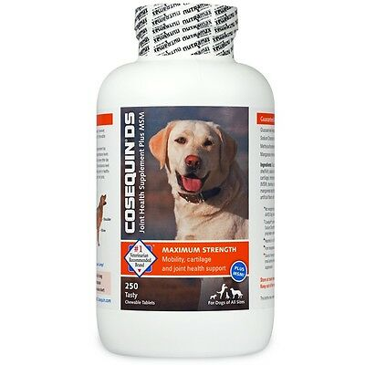 Cosequin DS PLUS MSM Chewable Tablets 250 Count