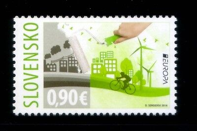SLOVAKIA Think Green EUROPA 2016 MNH stamp