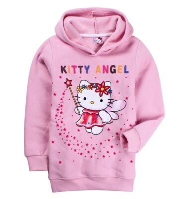 Hello Kitty Angel Hoodie Jacket Jumper Hoody Sweatshirt all sizes