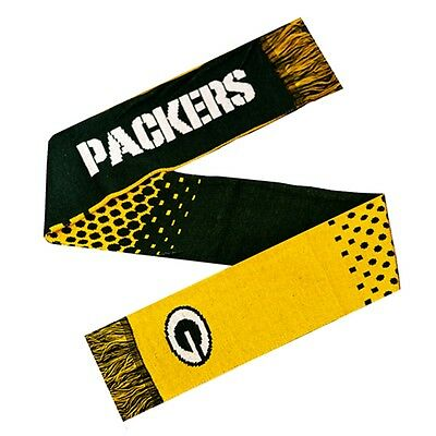 Nfl Green Bay Packers Fade Scarf