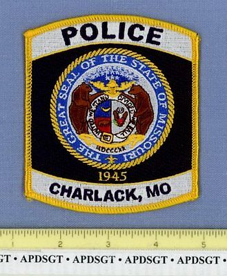 CHARLACK MISSOURI MO Sheriff Police Patch STATE SEAL