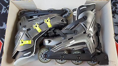 Rollerblade VIABLADE HWY 7 ABEC-3 Inline Skates Mens 8.5 US from Italy
