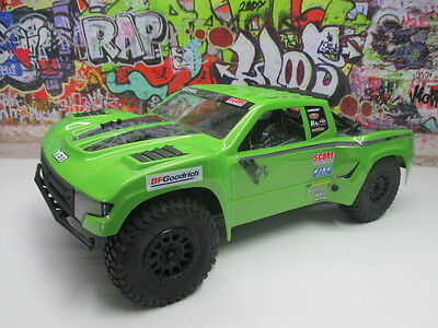 Axial 1/10 Yeti SCORE 4WD Trophy Truck Rolling Chassis Roller W/ Body OZ RC