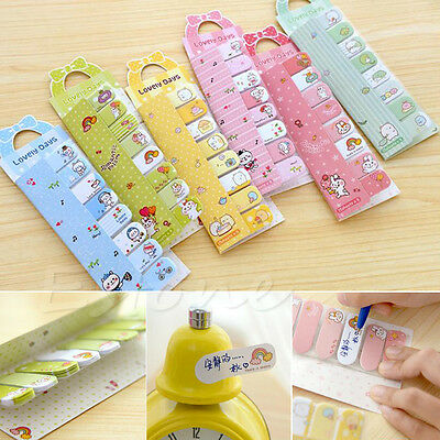 Cute Animals kawaii Sticky Notes Post-it book Page marker memo tab stickers